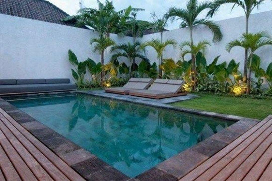 Fabulous Backyard Pool Landscaping Ideas You Never Seen Before 06