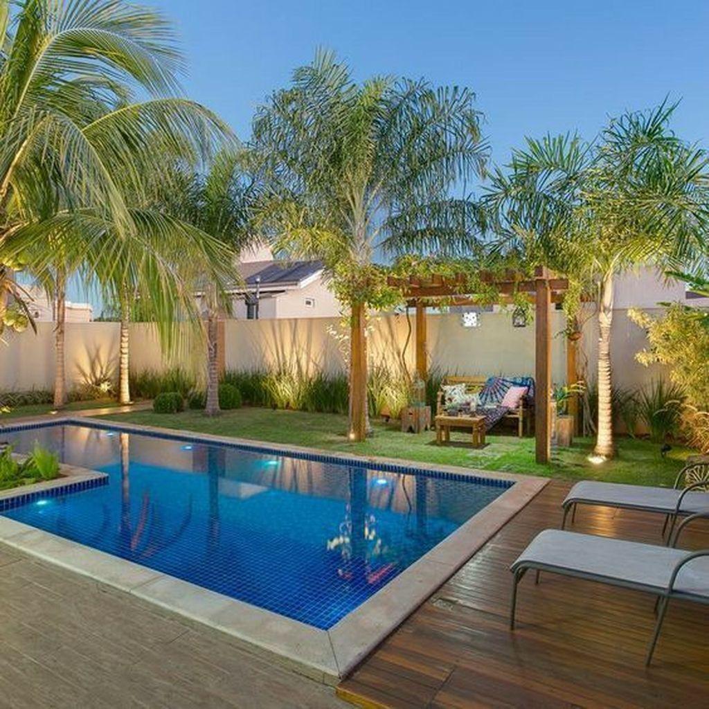 Fabulous Backyard Pool Landscaping Ideas You Never Seen Before 10