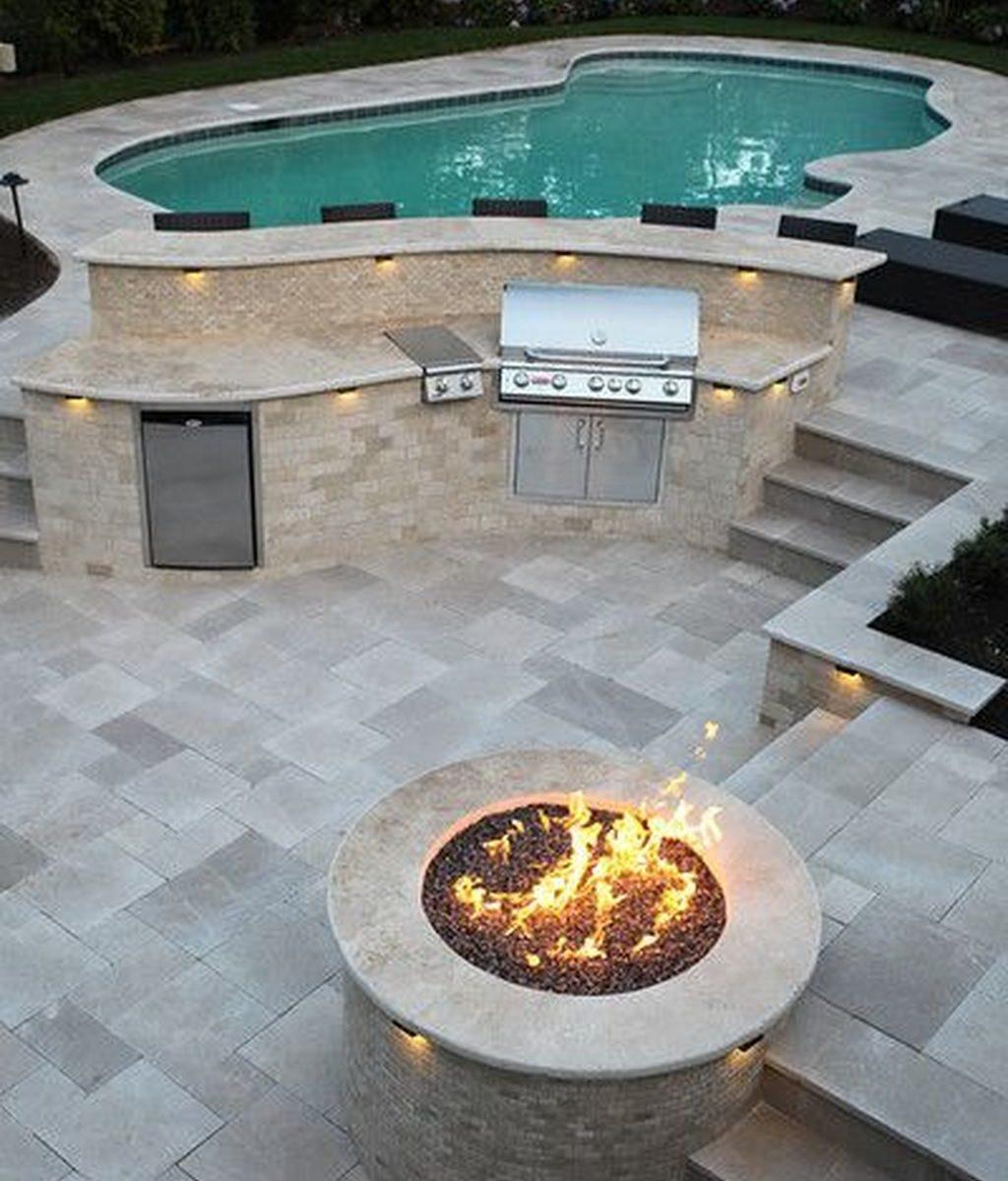 Fabulous Backyard Pool Landscaping Ideas You Never Seen Before 11