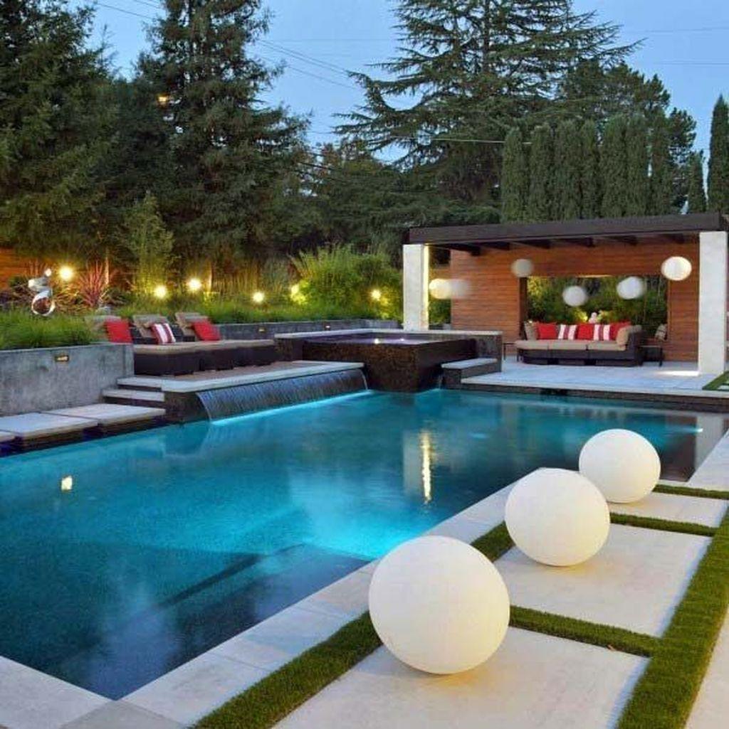 Fabulous Backyard Pool Landscaping Ideas You Never Seen Before 17