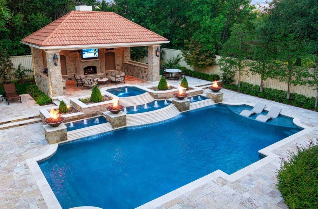Fabulous Backyard Pool Landscaping Ideas You Never Seen Before 21