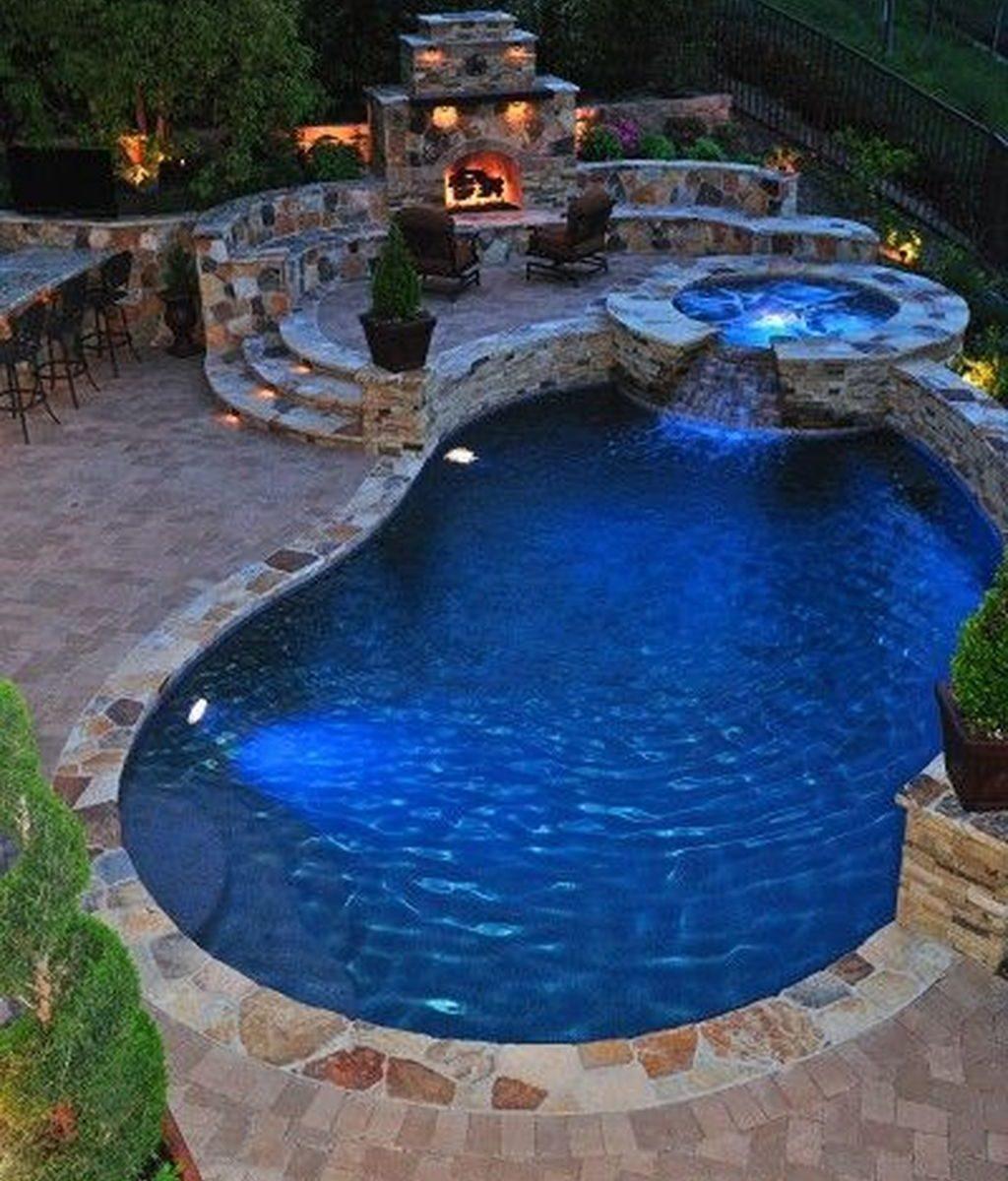 Fabulous Backyard Pool Landscaping Ideas You Never Seen Before 32