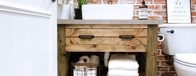 Fabulous Rustic Bathroom Vanities Design Ideas 25
