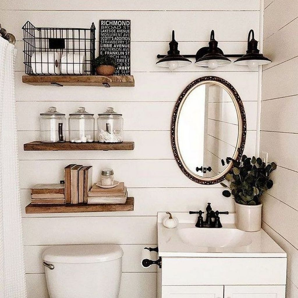Fascinating Rustic Bathroom Decor Ideas You Must Copy 34