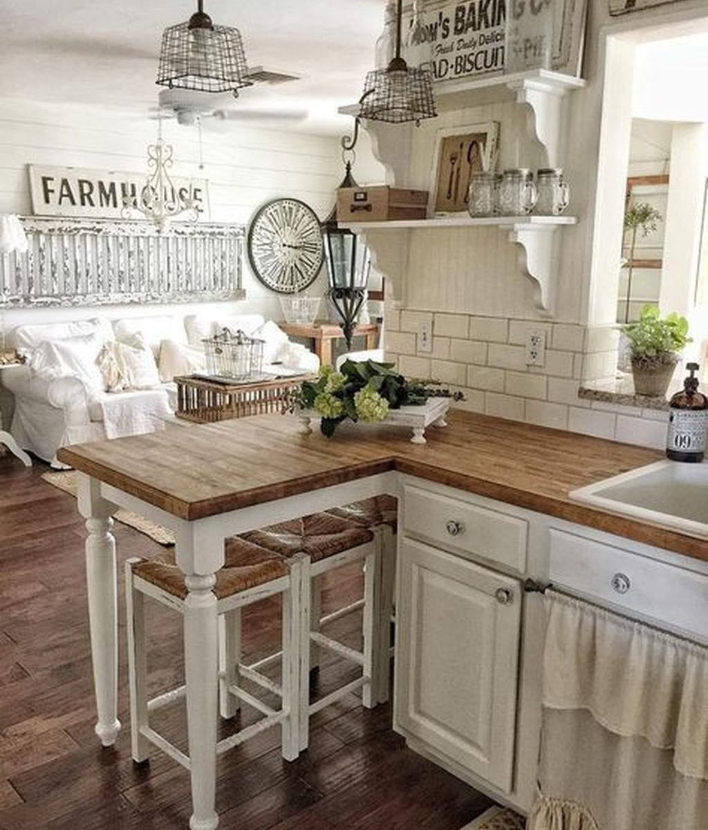 Inspiring Country Kitchen Decor Ideas You Should Copy 09
