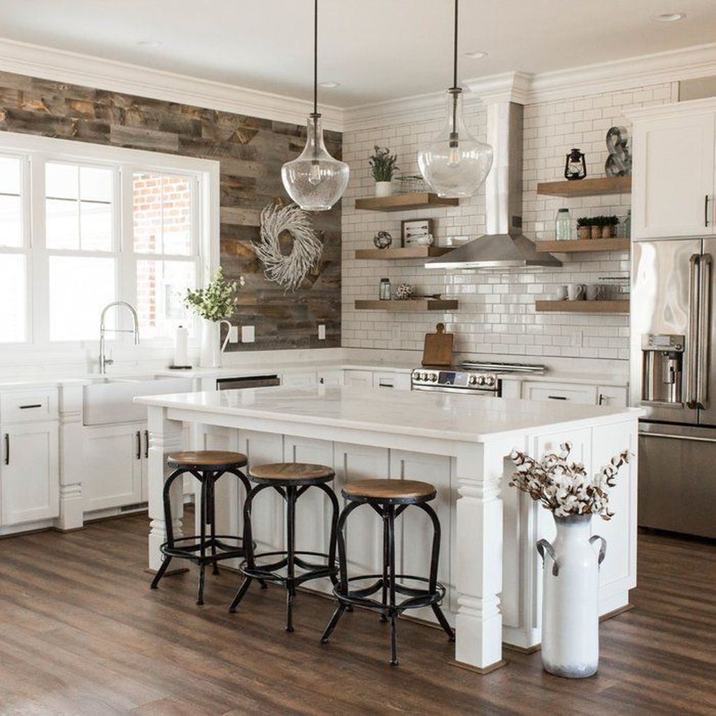 Inspiring Country Kitchen Decor Ideas You Should Copy 15