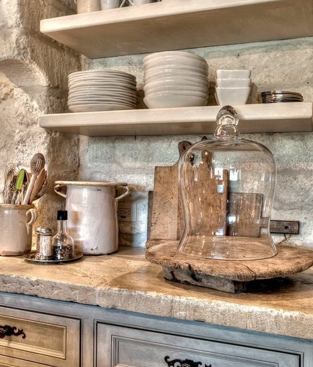Inspiring Country Kitchen Decor Ideas You Should Copy 20
