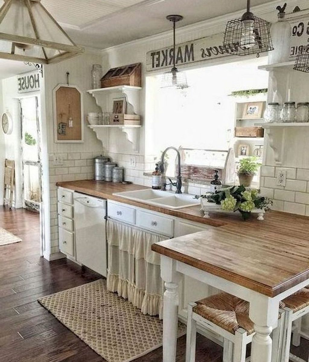 Inspiring Country Kitchen Decor Ideas You Should Copy 31