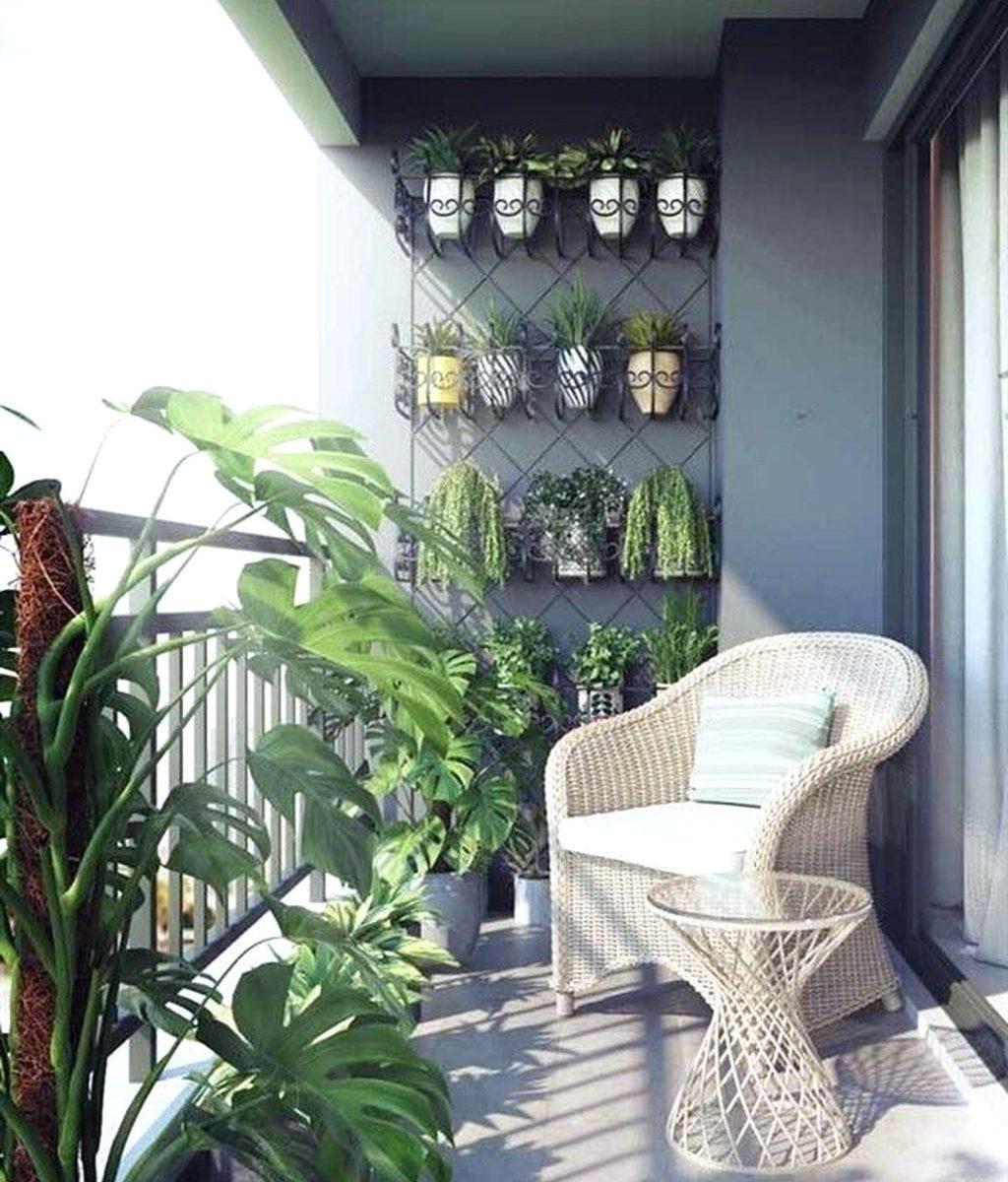Stunning Apartment Balcony Garden Ideas Look Beautiful 11