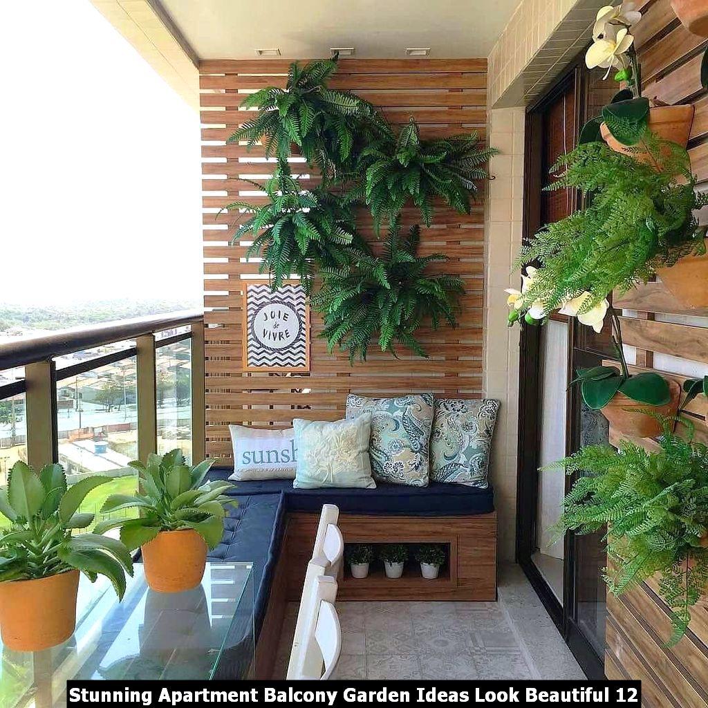 Stunning Apartment Balcony Garden Ideas Look Beautiful ...