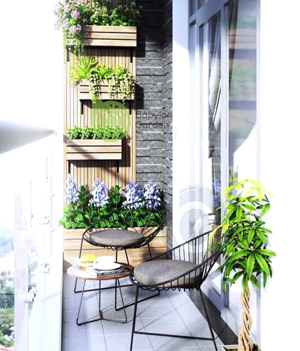Stunning Apartment Balcony Garden Ideas Look Beautiful 16