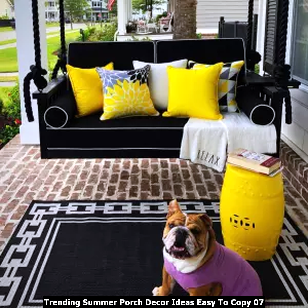 Trending Summer Porch Decor Ideas Easy To Copy 07