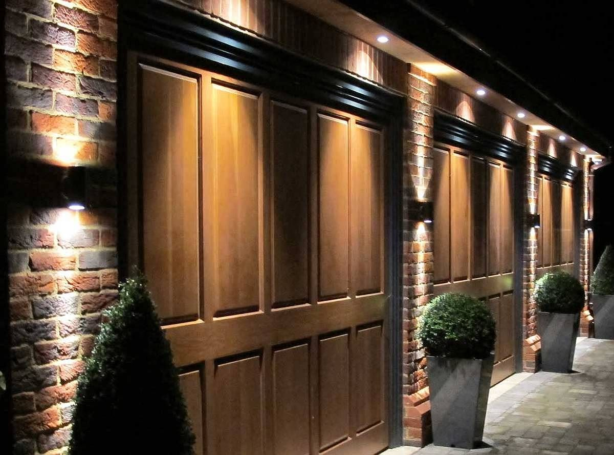 Exterior Garage Lights