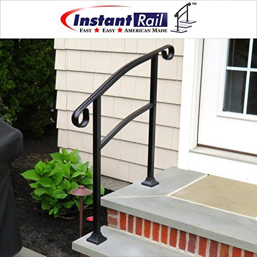 3 Step Outdoor Handrail