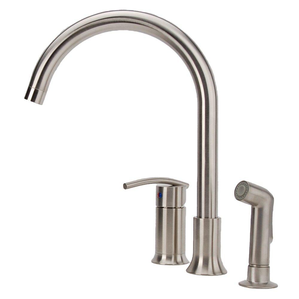 3 Hole Kitchen Faucet