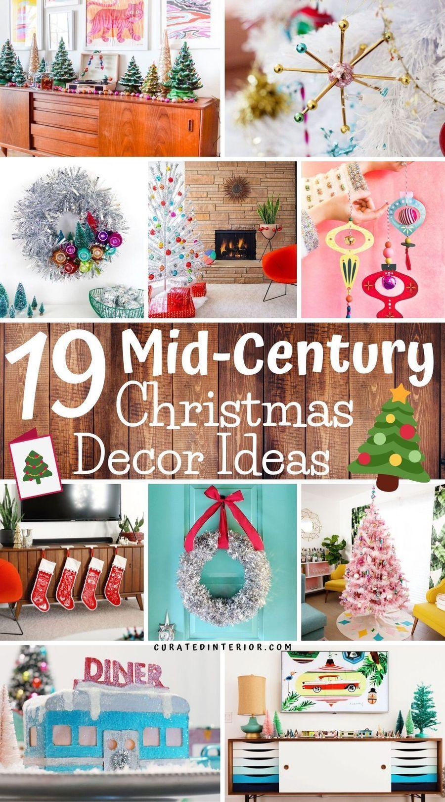 Mid Century Modern Christmas Decorations