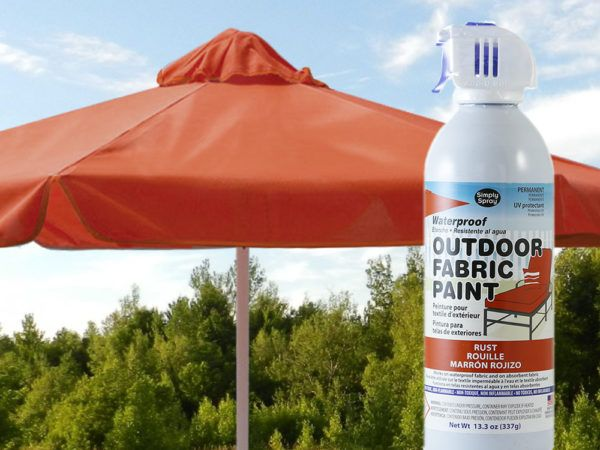 Outdoor Fabric Spray Paint