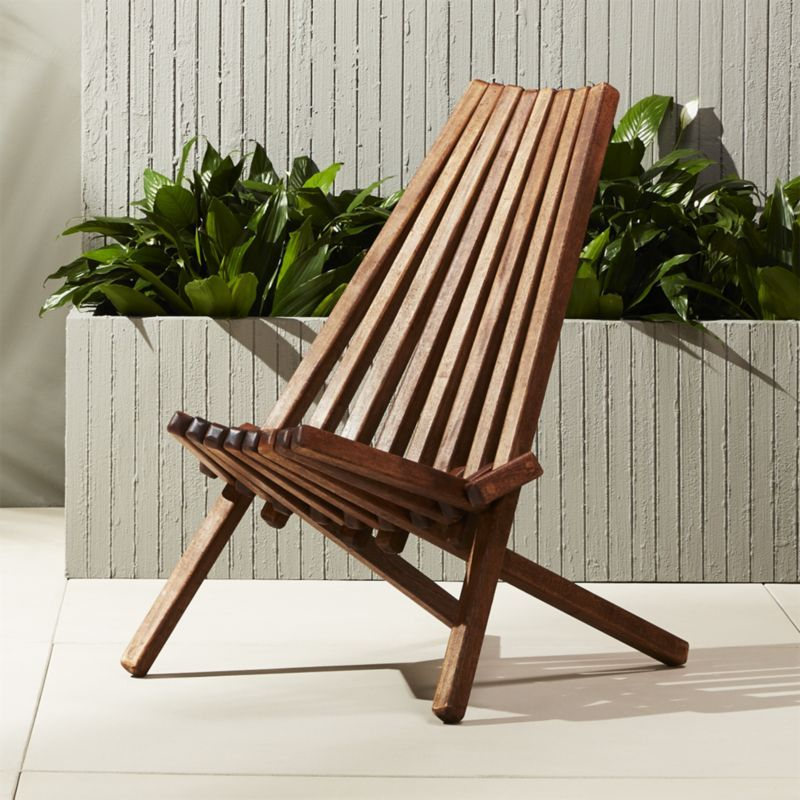 Outdoor Wooden Folding Chairs