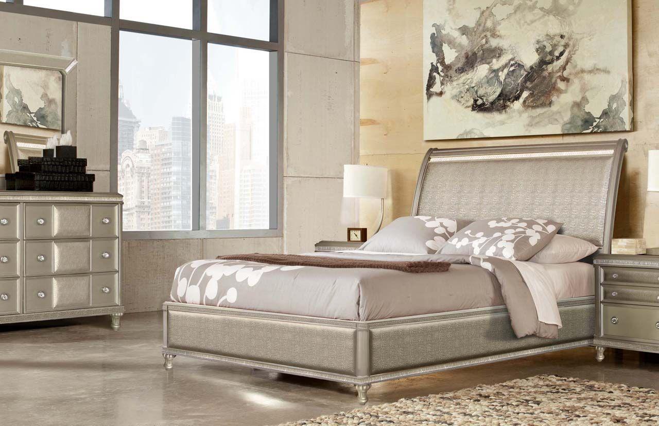 Glam Bedroom Set
