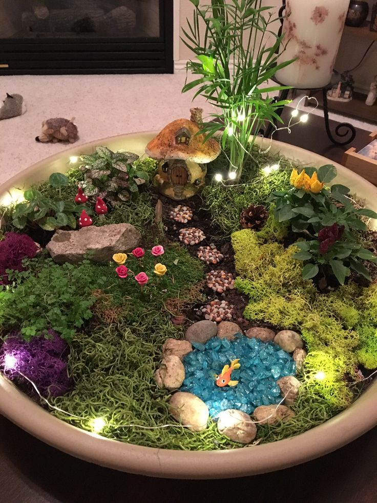 Indoor Fairy Garden Ideas