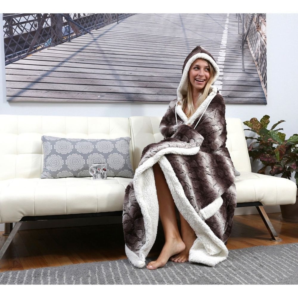 Chic Home Design Hooded Snuggle