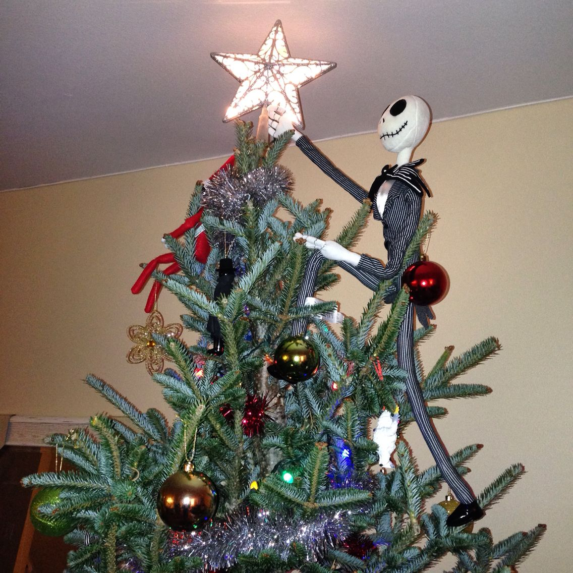Nightmare Before Christmas Tree Topper