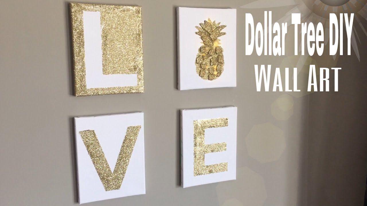 DIY Dollar Tree Wall Decor