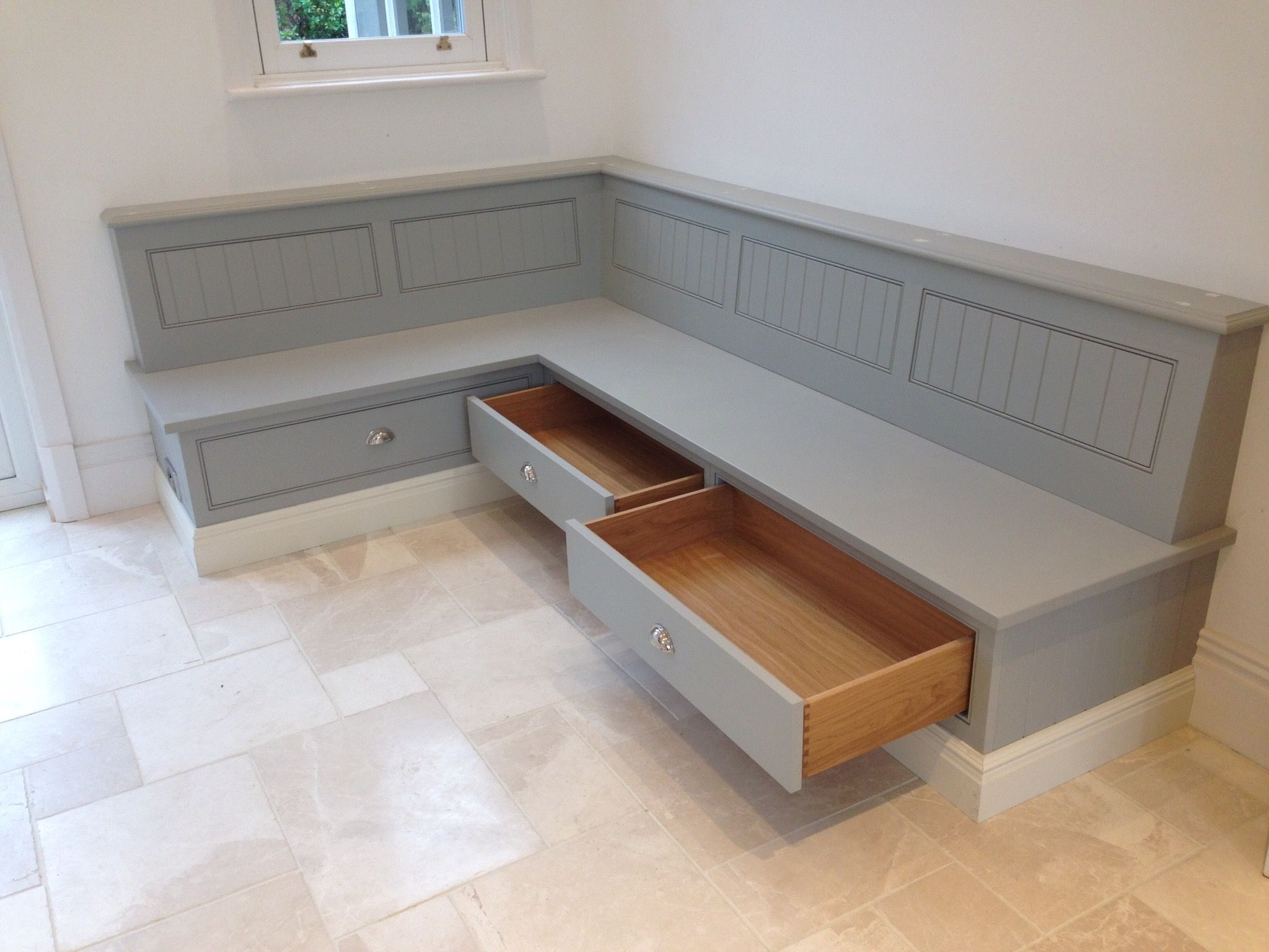 Kitchen Bench With Storage