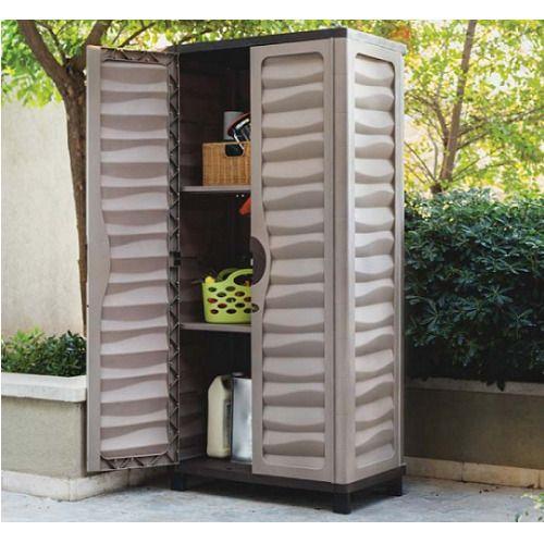 Plastic Outdoor Storage Cabinet