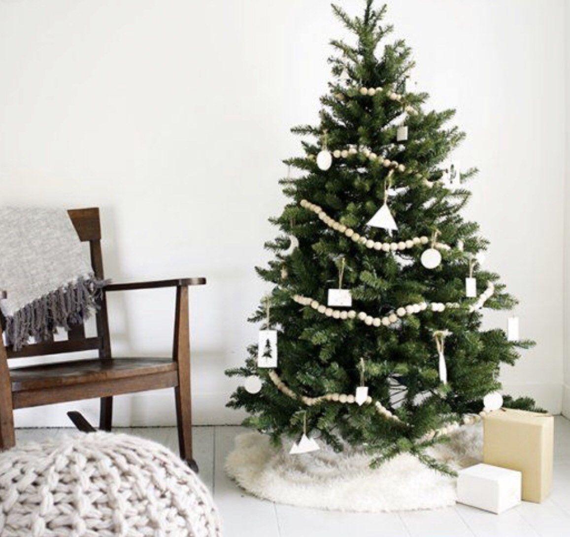 Christmas Tree Beaded Garland