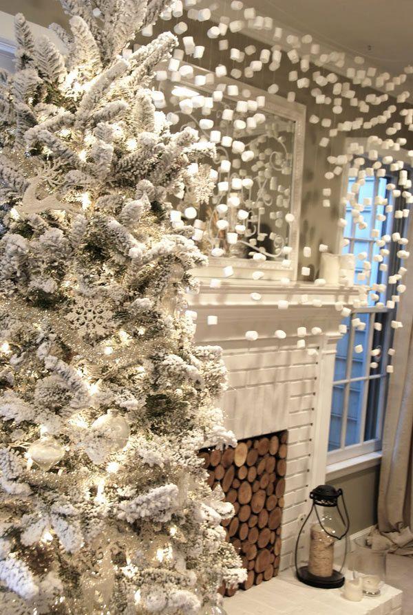 White Christmas Decoration Ideas