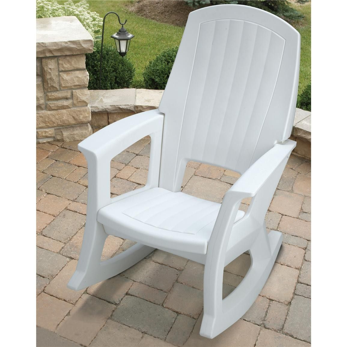 Plastic Outdoor Rocking Chair
