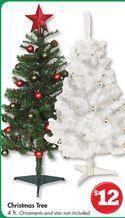 Family Dollar Christmas Trees