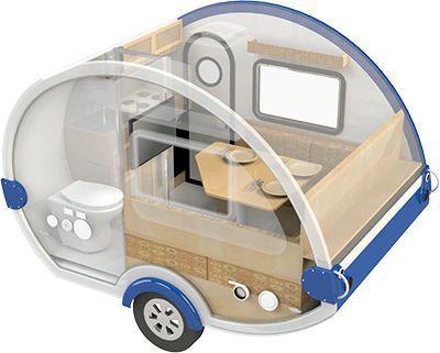 Teardrop Camper With Bathroom