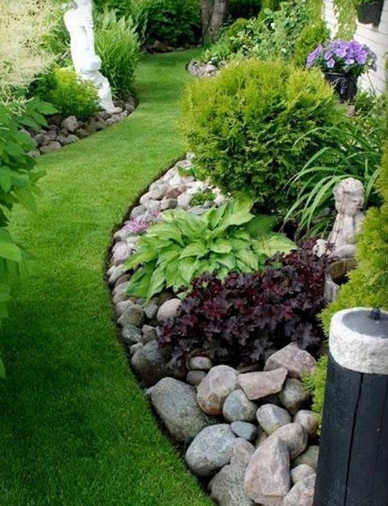 Rock Garden Ideas For Backyard