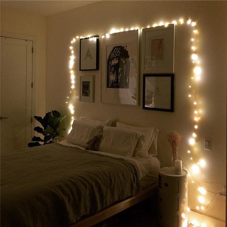 Twinkle Lights Bedroom