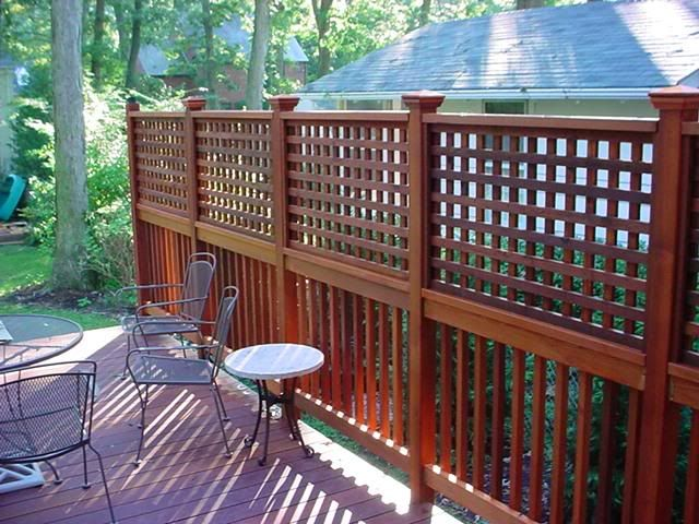 Outdoor Privacy Screen Ideas For Decks