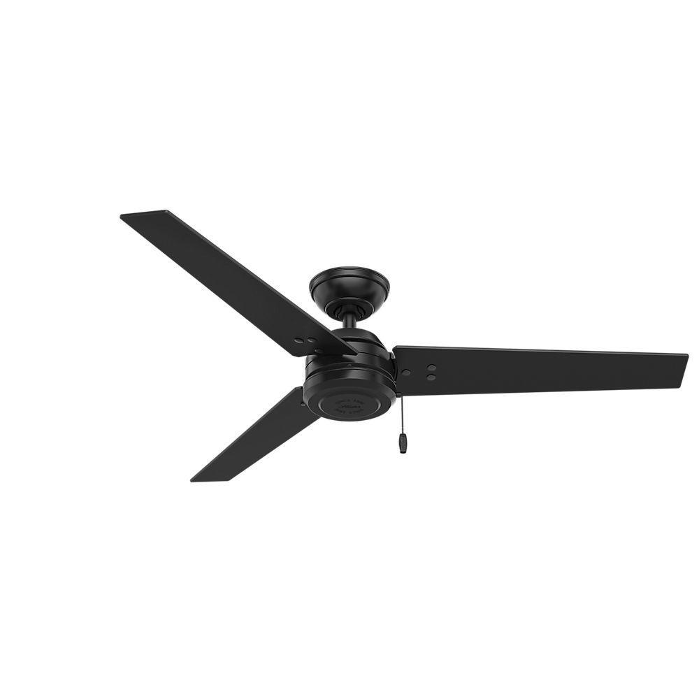 Black Outdoor Ceiling Fan