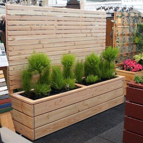 Rectangular Planter Box Outdoor