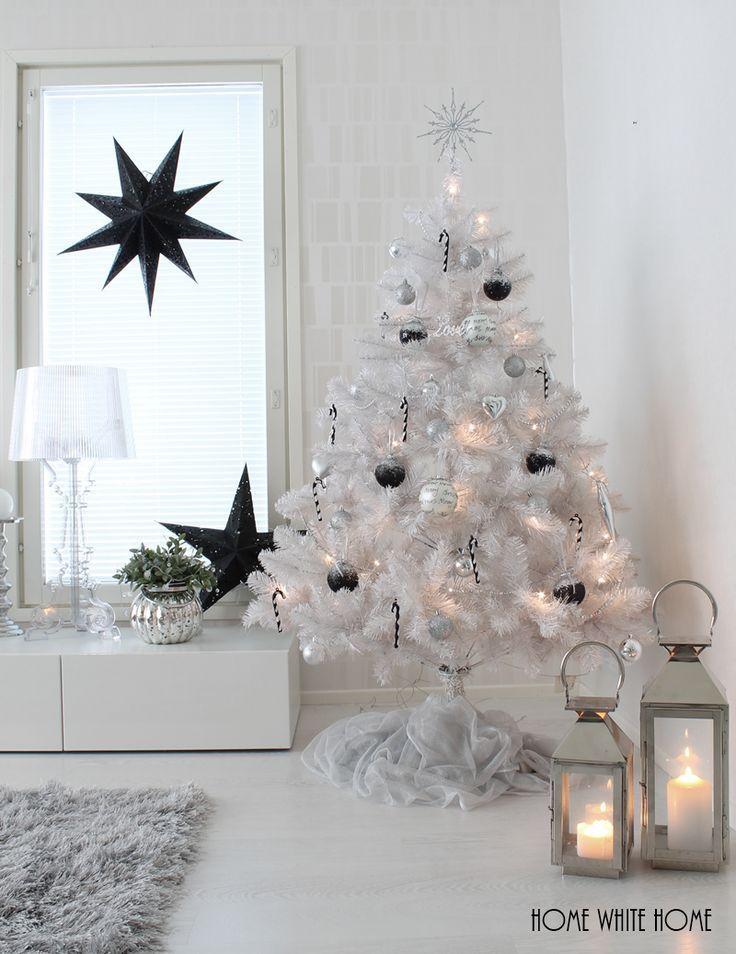 Small White Christmas Tree