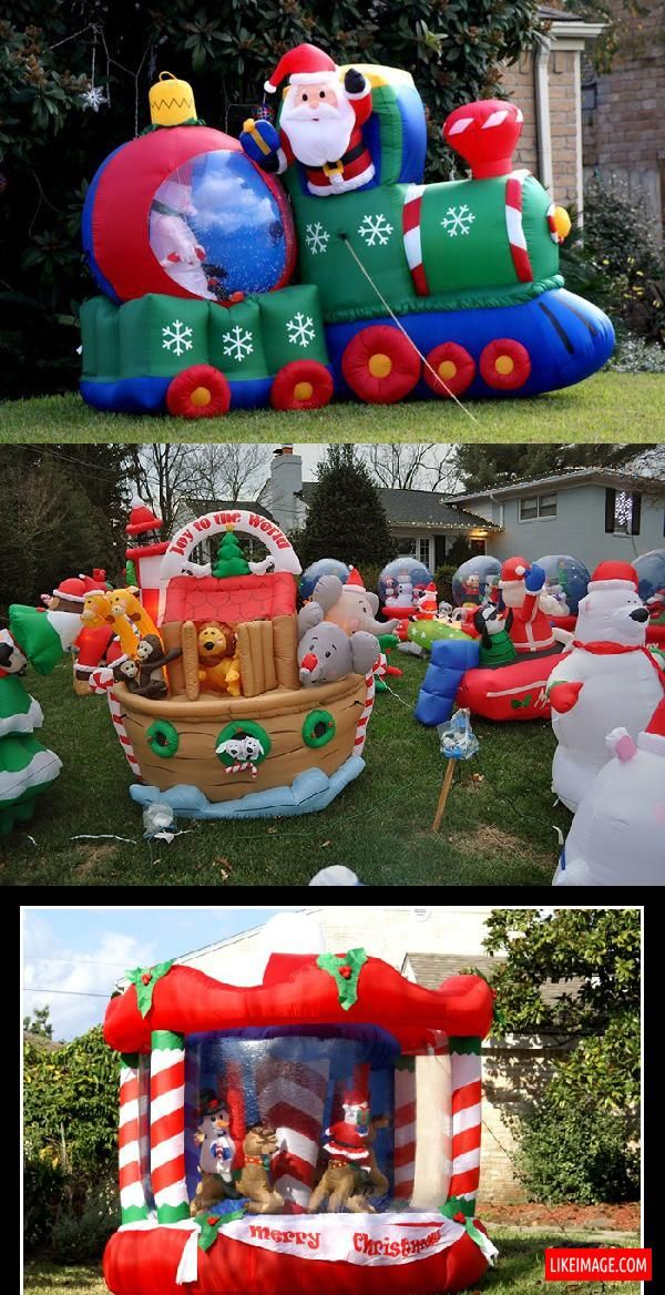 Outdoor Blow Up Christmas Decorations