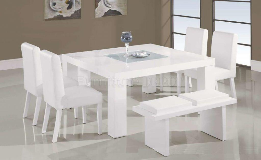 White Kitchen Table Set