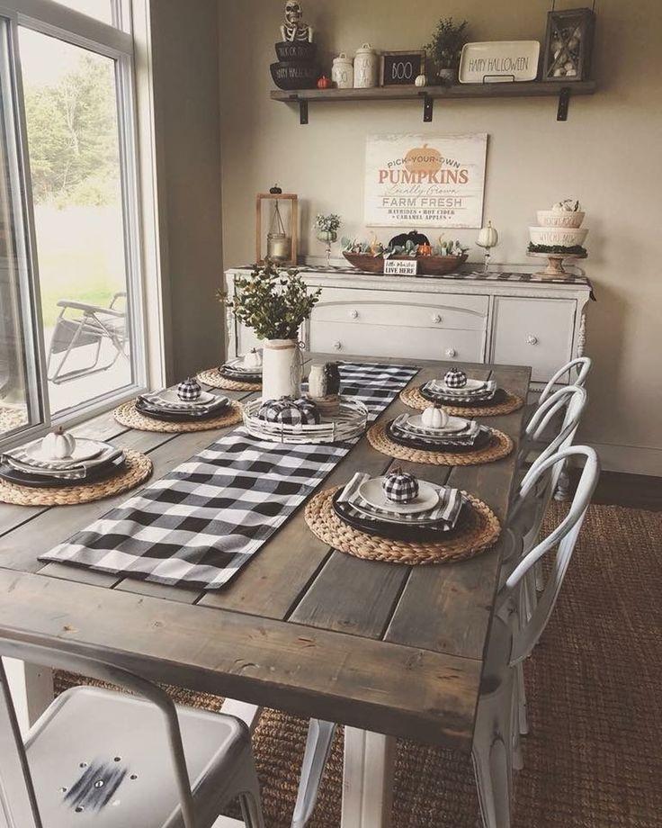 Farmhouse Dining Room Decor