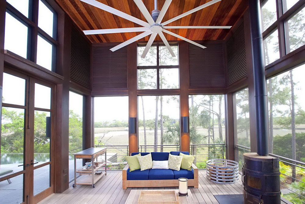 Large Outdoor Ceiling Fans