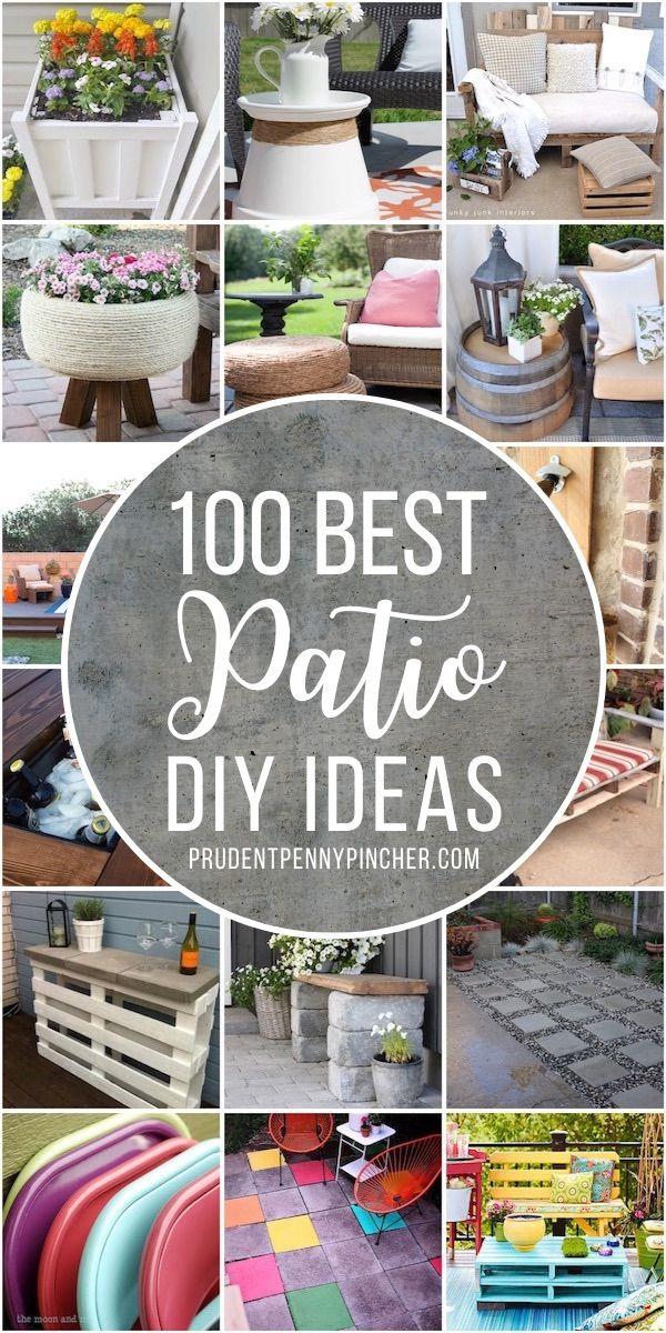 DIY Patio Decorating Ideas
