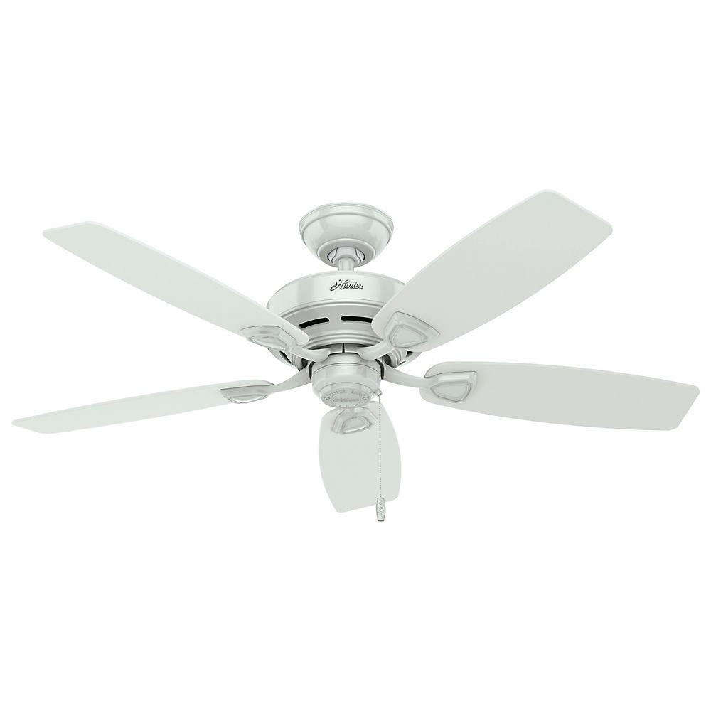 White Outdoor Ceiling Fan