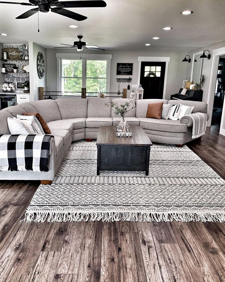 Farmhouse Living Room Rug