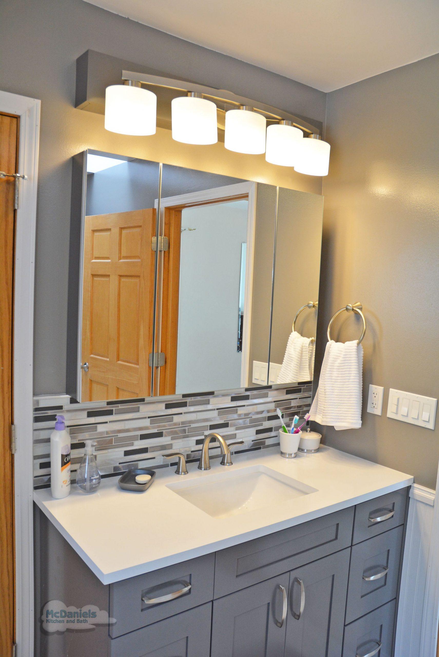 Bathroom Vanity Backsplash