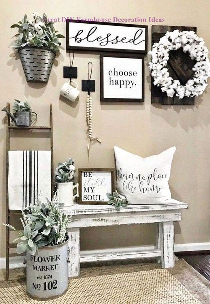 DIY Farmhouse Wall Decor