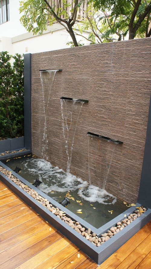 Outdoor Wall Water Fountains